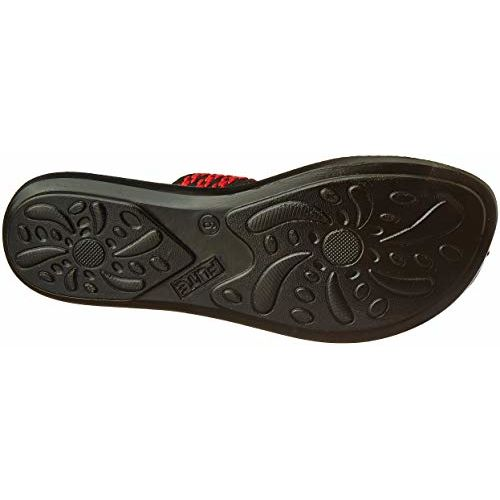FLITE Black Synthetic Flats Chapplas