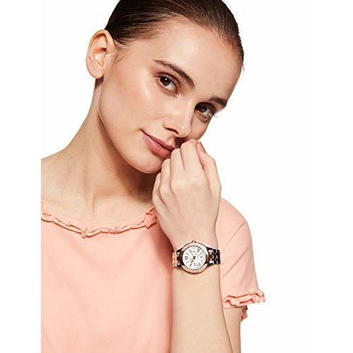 Casio Sheen Analog White Dial Women's Watch - SHE-3809SG-7AUDR (SX176)