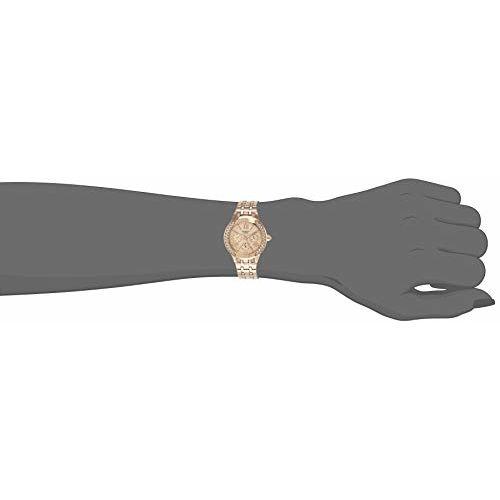 Casio Sheen Analog Gold Dial Women's Watch - SHE-3809PG-9AUDR (SX177)