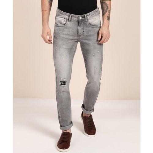 Flying Machine Skinny Men Grey Jeans