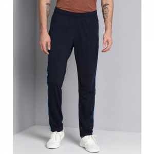 REEBOK Solid Men Dark Blue Track Pants