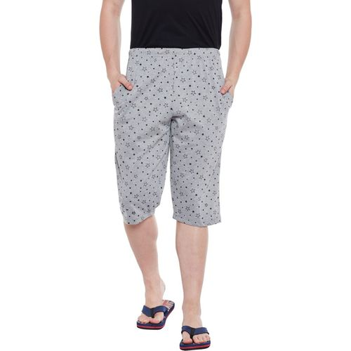 Vimal Jonney Printed Men Three Fourths