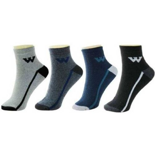 Your Shopping Store Men Color Block Ankle Length(Pack of 4)