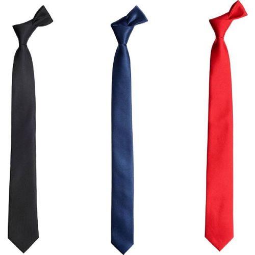 Kesari Solid Tie(Pack of 3)