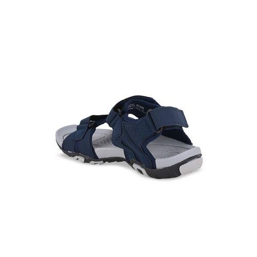 Sparx Men Blue & Grey Comfort Sandals
