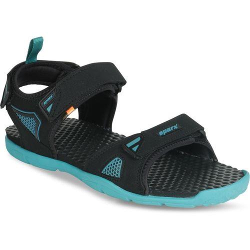 Sparx SS-497 Men Black, Blue Sports Sandals