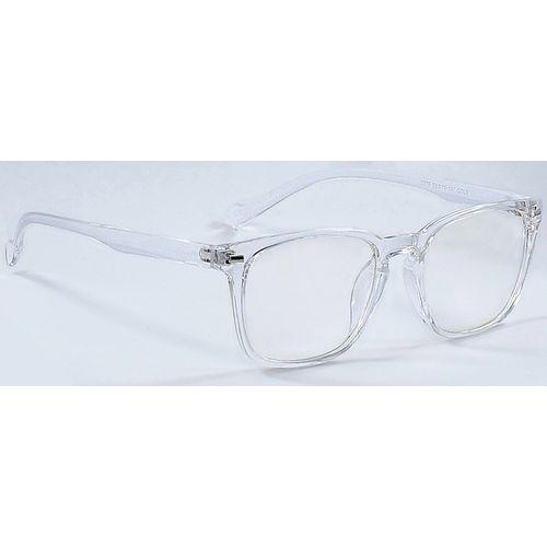 Azmani Wayfarer Sunglasses(Clear)