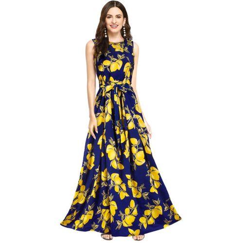 STYLEELITE Women Fit and Flare Blue Dress