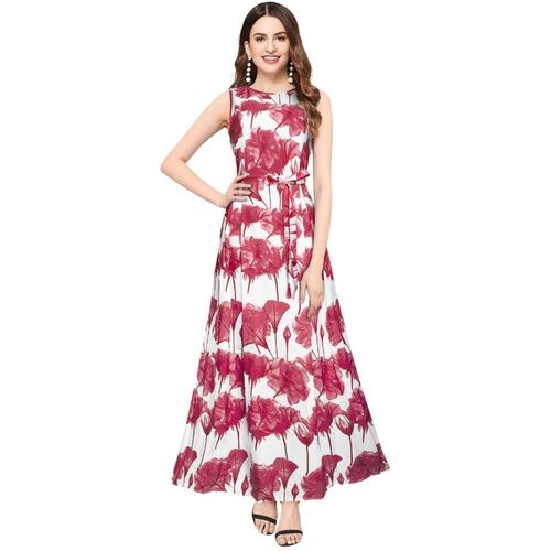 STYLEELITE Women Fit and Flare Pink Dress