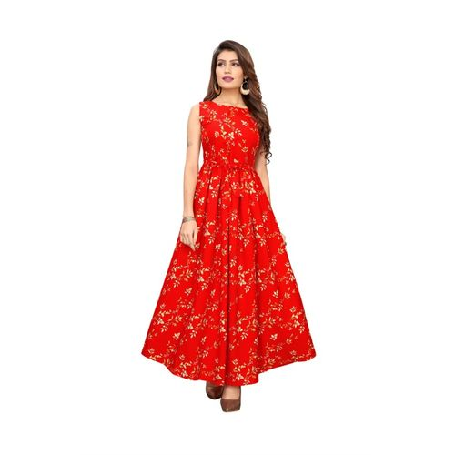 LIMESWOOD CREATION Women Maxi Red Dress