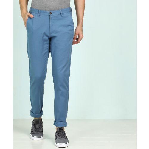 Van Heusen Sport Tapered Men Light Blue Trousers