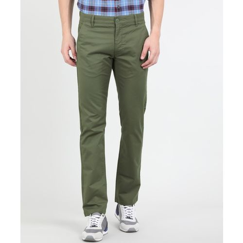 Levi's Slim Fit Men Green Trousers