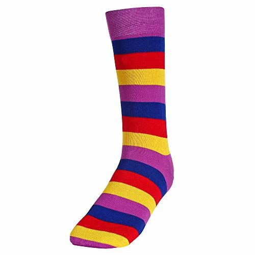 CREATURE Men's Cotton Calf Length 3 Multi Color Casual Socks Combo of 3(SCS-2901)
