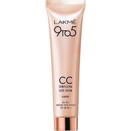 Lakme 9 to 5 Complexion Care Cream SPF 30 PA++ Foundation(Almond, 30 g)