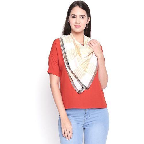 Style Quotient Printed Cotton Viscose Blend Women Scarf