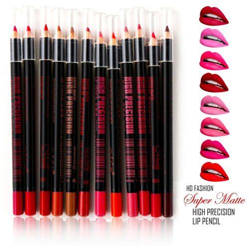 MN Soft Matte High Precision Lip Liner(Multicolor)