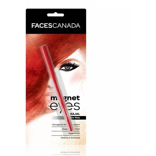 Faces Canada Magneteyes Kajal(Black, 0.35 g)