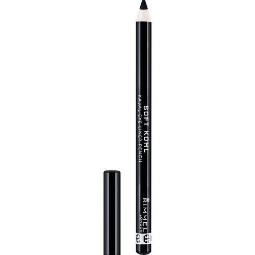Rimmel London Soft Kohl Eye Liner Pencil -061-JET BLACK(061-JET BLACK, 1.2 g)