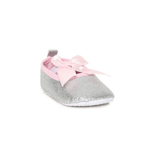 Fame Forever by Lifestyle Girls Silver-Toned & Pink Ballerinas