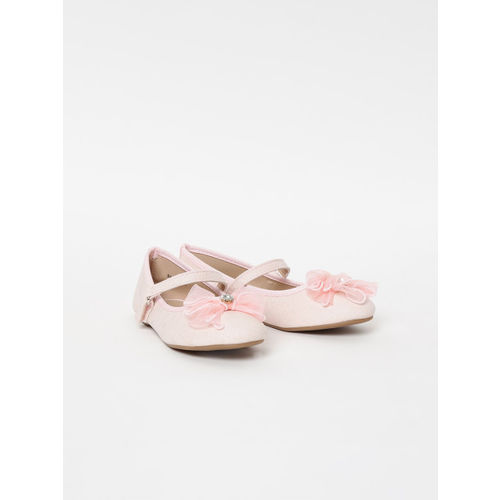 Fame Forever by Lifestyle Girls Pink Solid Ballerinas