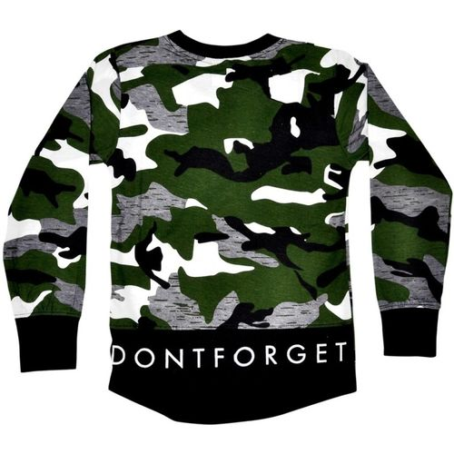 Esteem Boys & Girls Military Camouflage Cotton Jersey T Shirt(Multicolor, Pack of 1)