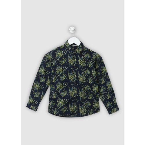 Flying Machine Boys Printed Casual Multicolor Shirt
