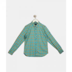 Indian Terrain Boys Checkered Casual Multicolor Shirt