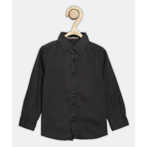 Pepe Jeans Boys Self Design Casual Grey Shirt