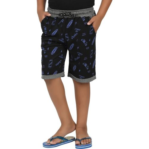 Sevnix Short For Boys Casual Printed Pure Cotton(Multicolor, Pack of 1)