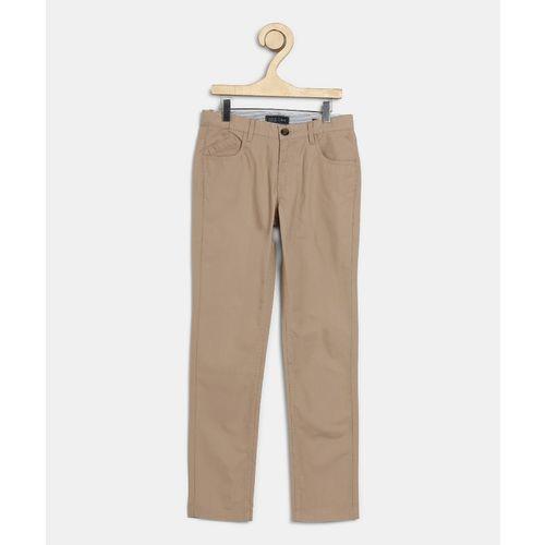 Indian Terrain Regular Fit Boys Beige Trousers