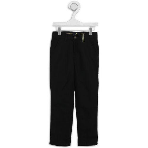 Gini & Jony Slim Fit Boys Black Trousers