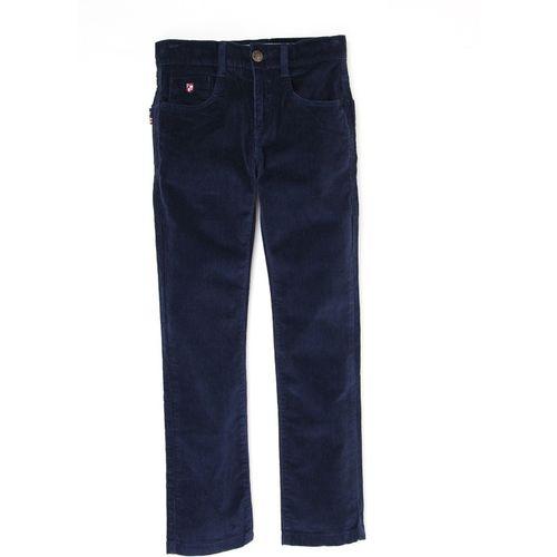 U.S. Polo Assn. Kids Slim Fit Boys Blue Trousers