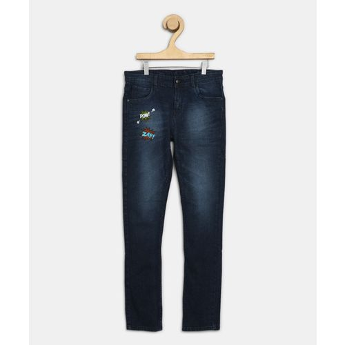 Flying Machine Kids Regular Boys Dark Blue Jeans