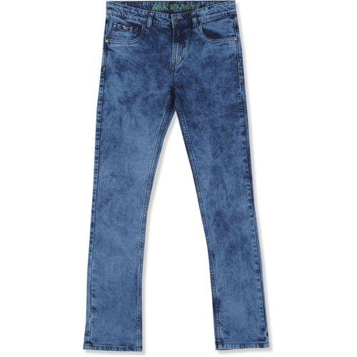 Flying Machine Kids Skinny Boys Dark Blue Jeans