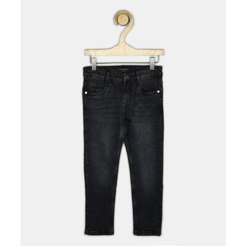 Provogue Slim Boy's Black Jeans