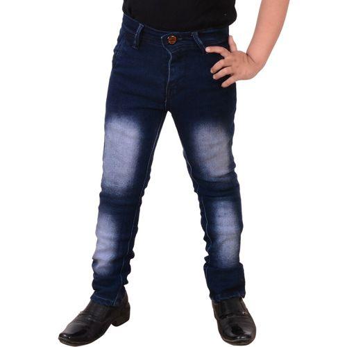 Guchu Slim Boys Blue Jeans