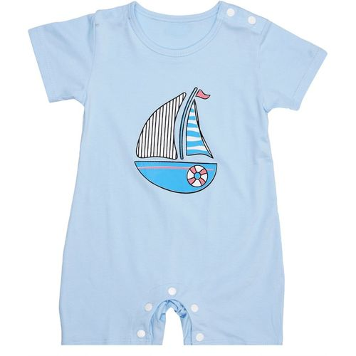 Icable Baby Boys & Baby Girls Blue Bodysuit