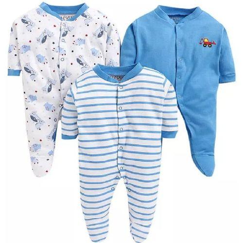 Tinchuk Baby Boys & Baby Girls Blue Bodysuit