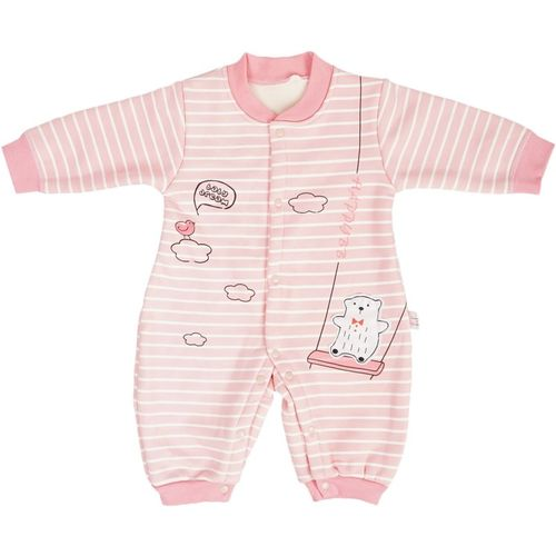 Icable Baby Boys & Baby Girls Pink Bodysuit