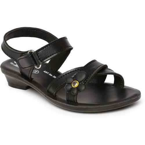 Paragon Boys & Girls Velcro Flats(Black)