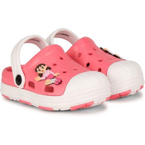 Doraemon Boys & Girls Slip-on Clogs(Pink)