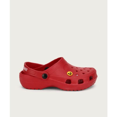Miss & Chief Boys & Girls Slip-on Clogs(Red)