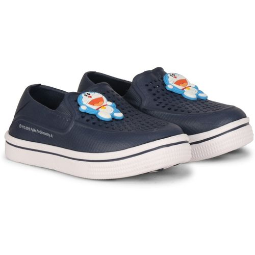 Doraemon Boys & Girls Slip-on Clogs(Blue)