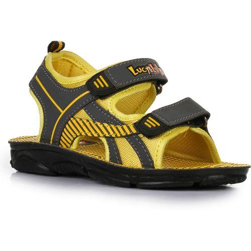 Lucy & Luke By Liberty Boys Velcro Flats(Yellow)