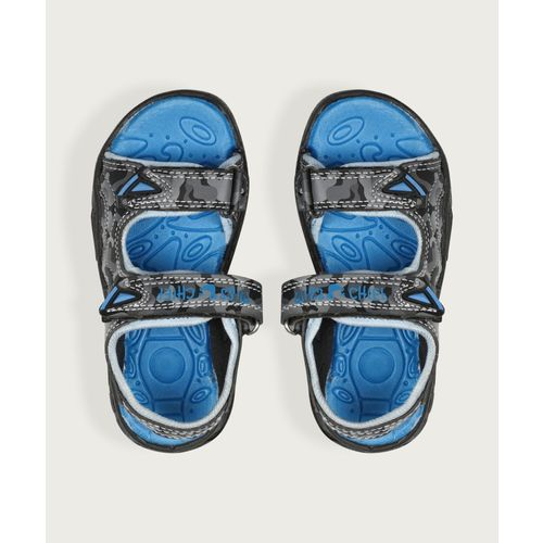Miss & Chief Boys Velcro Sports Sandals(Grey)