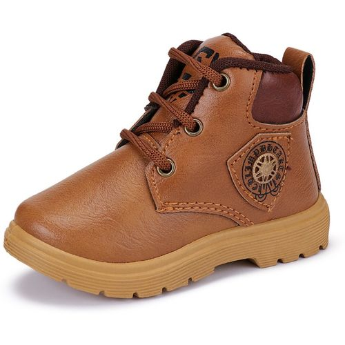 Oricum Boys Lace Casual Boots(Brown)