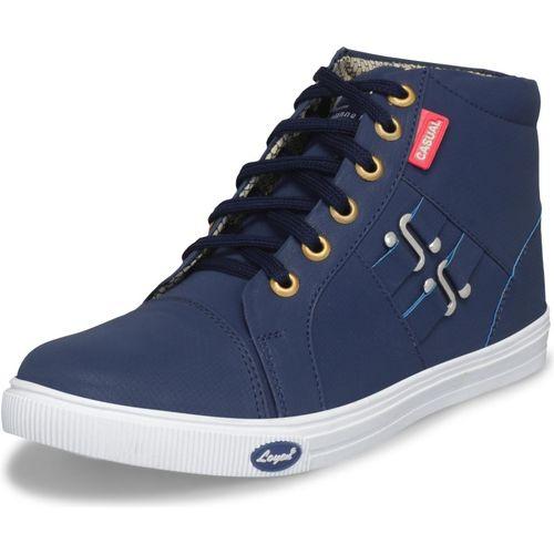 Essence Boys Lace Sneakers(Blue)