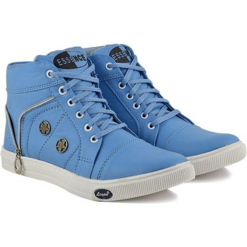 Essence Boys Lace Sneakers(Light Blue)