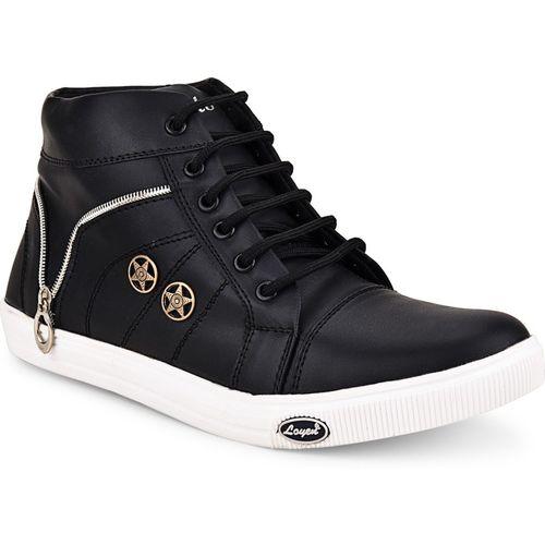 Essence Boys Lace Sneakers(Black)