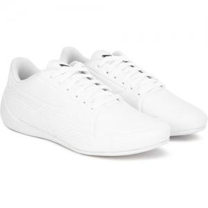Puma Boys & Girls Lace Sneakers(White)